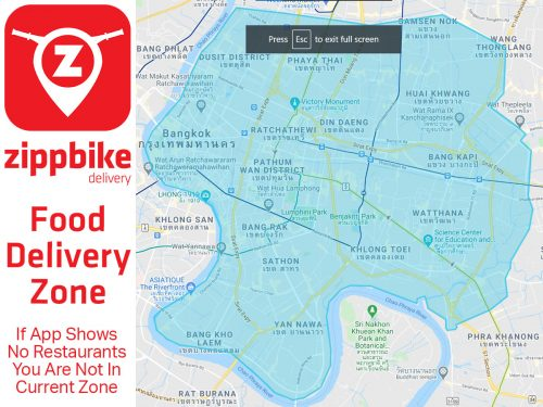 Delivery Zone SM Food