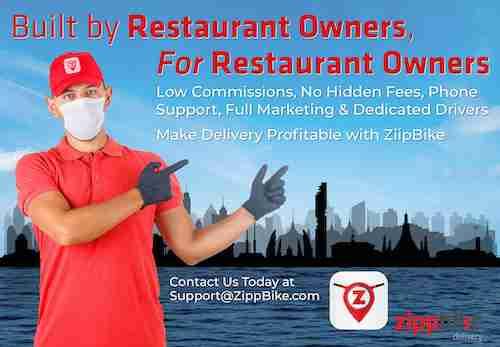 Get Your Restaurant on ZippBike